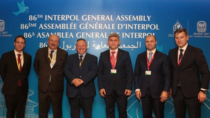 Delegația Republicii Moldova a avut mai multe întrevederi bilaterale, în cadrul celei de a 86-a reuniuni INTERPOL