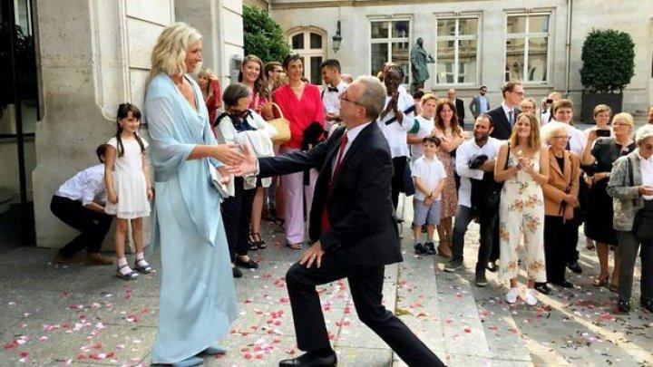 Căsătorie neobișnuită! Și-au jurat credință veșnică, la 41 de ani după ce s-au cunoscut