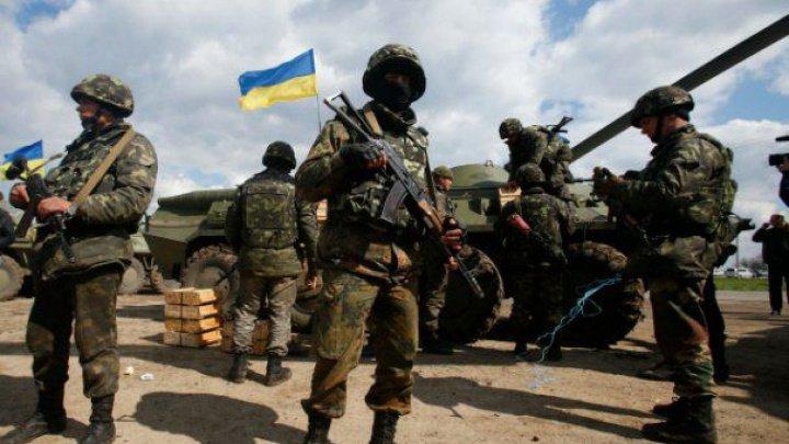 Exercițiile militare au început în vestul Ucrainei. La manevre participă 57 de militari moldoveni