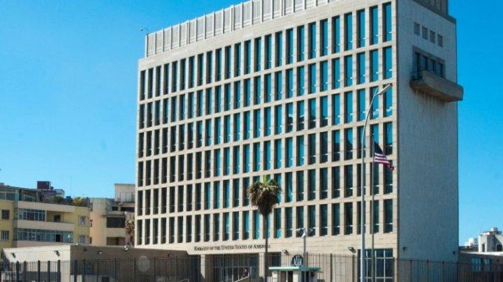 Atacuri sonice la Ambasada Statelor Unite ale Americii din Cuba