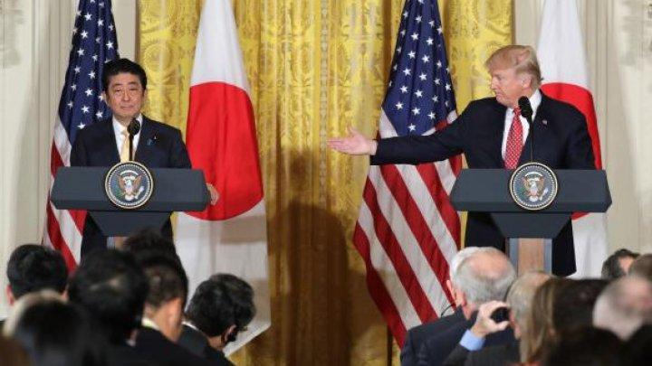 """Japonia susține o posibilă """"politică americană"""" în cazul Coreei de Nord"""