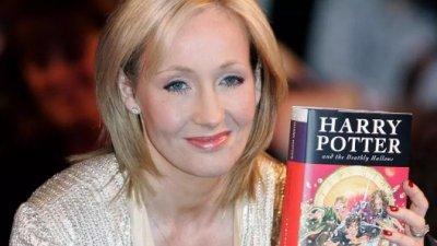 Autoarea cărților Harry Potter, cea mai bine plătită celebritate din Europa