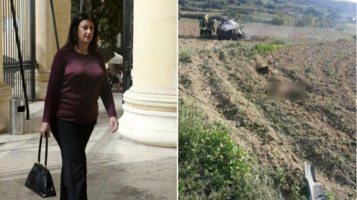 Celebra jurnalistă care a cauzat alegeri anticipate în Malta a murit după ce maşina sa A EXPLODAT din cauza unei bombe