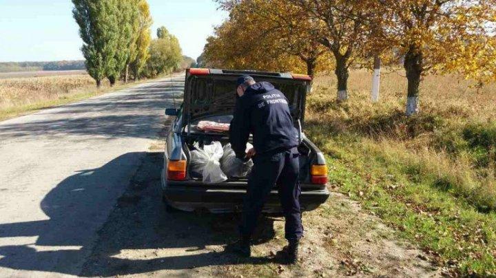 Businessul unui moldovean, dat peste cap, după ce maşina i-a fost trasă pe dreapta de poliţiştii de frontieră
