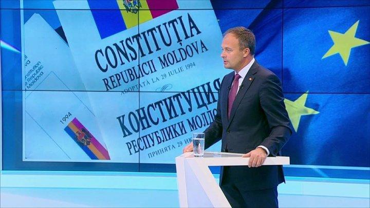 Andrian Candu: Moldova trebuie să devină țara în care fiecare cetățean va vrea să se trezească dimineața să meargă la lucru