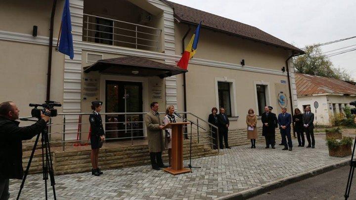 Sediul Serviciul regional Nord BMA al MAI, renovat şi inaugurat la Bălţi cu suportul Ambasadei SUA în Republica Moldova