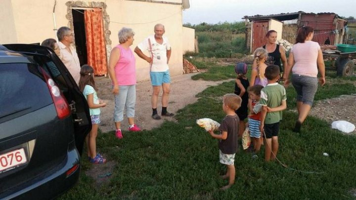 Gest incredibil! Ce i s-a întâmplat unei familii cu nouă copii care trăia într-o sărăcie lucie (FOTO)