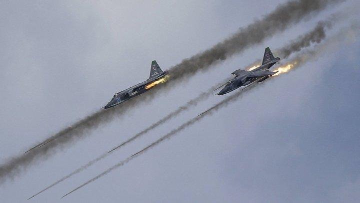 Aviaţia rusă a atacat obiective al-Qaida. În urma raidurilor, 62 de terorişti au fost omorâţi