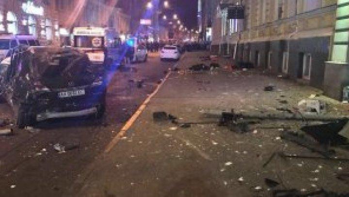 Şoferiţa din Harkov care a ucis cinci oameni cu mașina A PLÂNS ÎN HOHOTE în fața instanței (VIDEO)