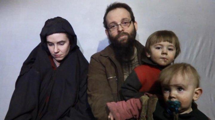 Au fost salvaţi după ce au trăit în captivitate. O familie cu trei copii, au fost ELIBERAŢI după cinci ani de talibani
