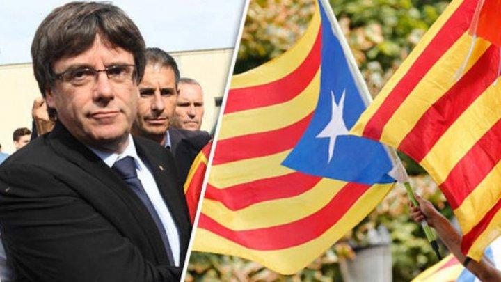 Premierul Cataloniei riscă ani grei de închisoare. Este acuzat de rebeliune