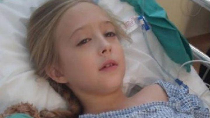 O istorie de viaţă cu final fericit! O fetiţă de zece ani a învins cancerul la sân după 2 ani de chin