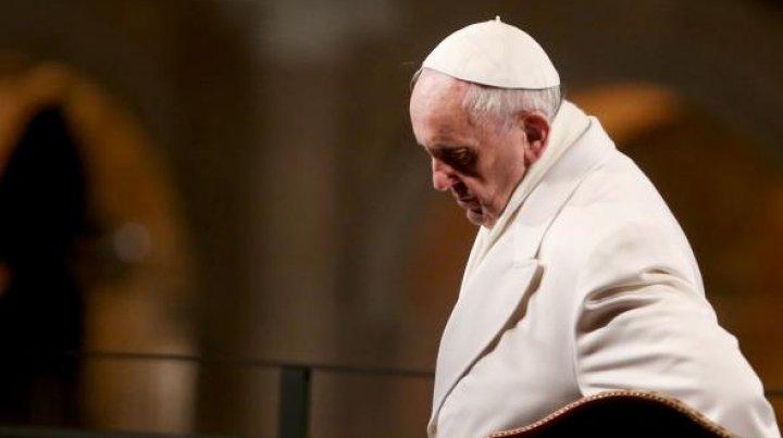 """Atacul armat din Las Vegas. Papa Francisc, profund întristat: """"O tragedie fără sens"""""""
