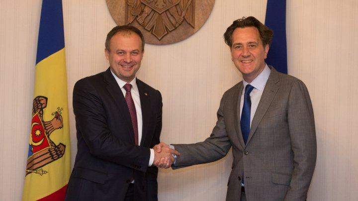 Andrian Candu a cerut sprijinul Băncii Mondiale pentru îmbunătățirea mediului de afaceri din Moldova