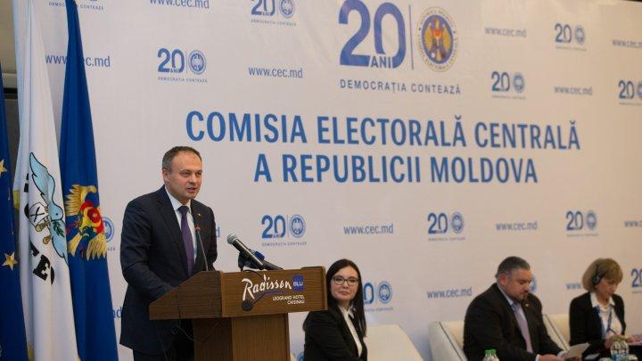 Andrian Candu: CEC a înregistrat progrese constante în edificarea unei instituții independente și echidistante