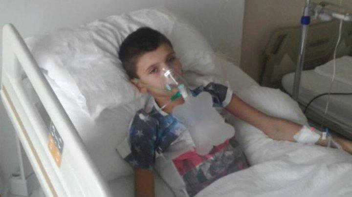 Vasilică Gonciari, fiul celui mai renumit olar din Moldova a câştigat prima bătălie în lupta cu tumorile