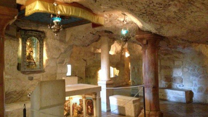 Peștera Laptelui din Betleem, locul la care mii de creștini se roagă. MINUNILE care se întâmplă acolo
