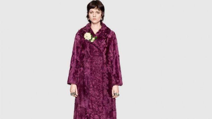 Casa de modă Gucci renunţă la blănuri. Iată ce vor face cu articolele apărute deja