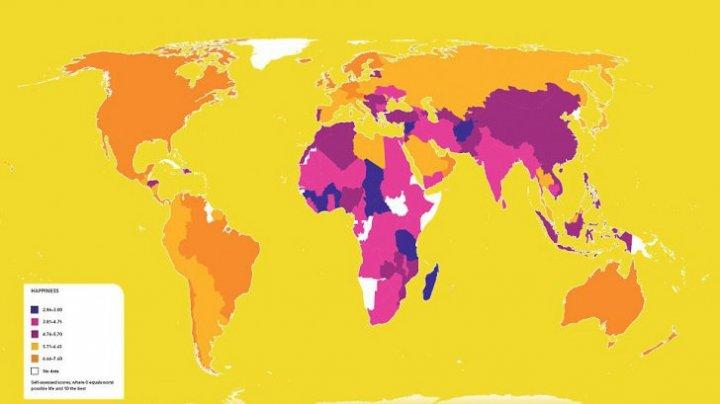 Lumea așa cum nu a mai fost văzută! Iată cele mai ciudate hărți (FOTO)