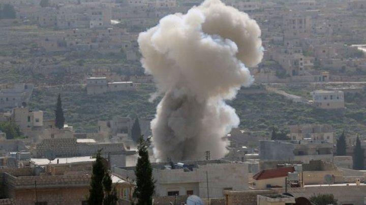 SIRIA: Explozie de amploare în oraşul Damasc
