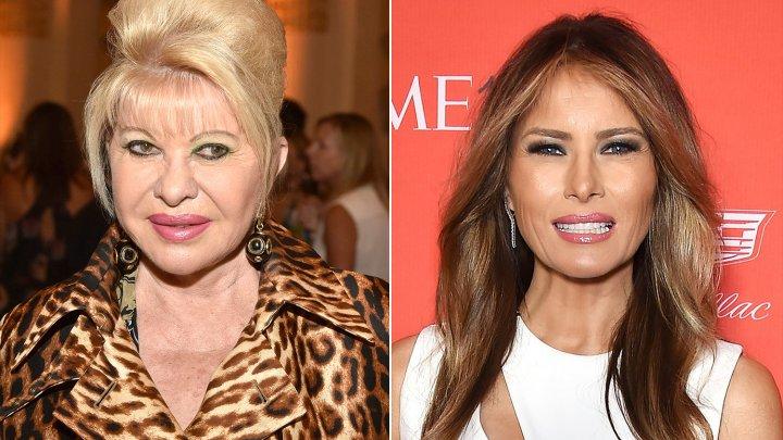 Conflict între prima doamnă a Statelor Unite şi prima soţie a lui Donald Trump, Ivana Trump. Ce replici şi-au aruncat cele două