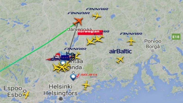 VINERI 13: Pasagerii zborului 666 au aterizat în siguranță în Hel