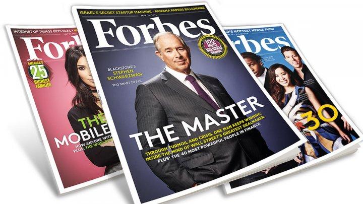 Revista americană Forbes lansează o ediţie în limba franceză