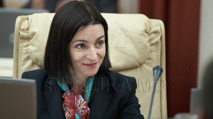Maia Sandu a primit o invitaţie de a vizita Federaţia Rusă