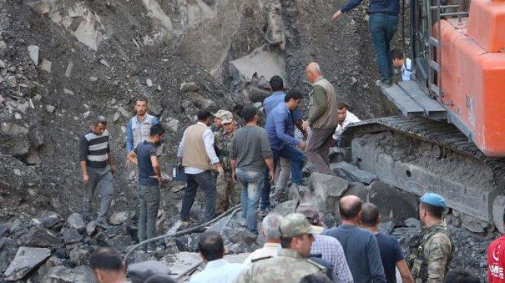 Cel puțin șase persoane au murit, după ce o mină de cărbune s-a prăbușit în Turcia