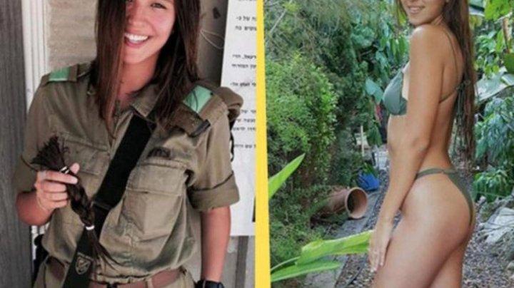 Poze HOT cu tinerele din armata israeliană. Cum arată cu arma în mână cele mai sexy femei (FOTO)