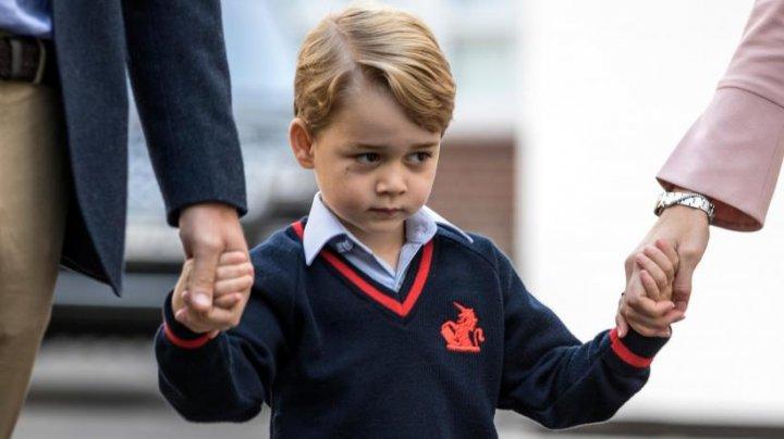 Spaimă uriaşă în familia britanică! Prințul George era cât pe ce să fie răpit de membrii unei celule teroriste