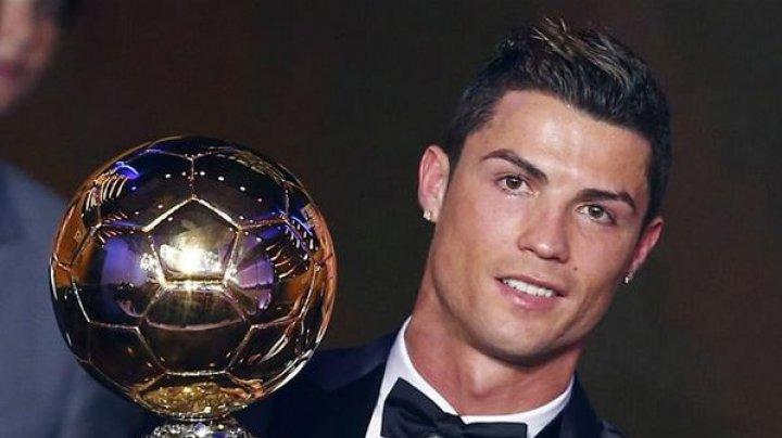 Cristiano Ronaldo a scos la licitaţie trofeul câştigat în 2013. Ce a făcut cu suma adunată