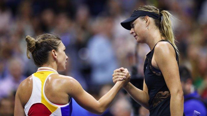 Victorie spectaculoasă. Simona Halep a bătut-o pe Maria Sharapova în două seturi la Beijing