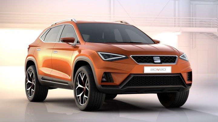 Seat lansează în 2020 un SUV coupe sportiv, bazat pe conceptul 20V20