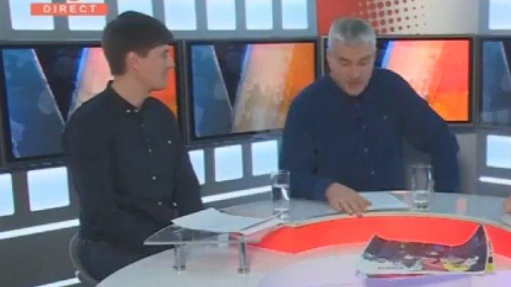 Alexandru Slusari de la PDA, umilit într-o emisiune TV de un tânăr democrat (VIDEO)