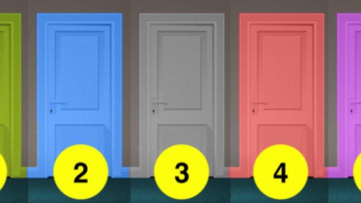 TEST! Ușa destinului îți dictează viitorul. Tu pe care o alegi?