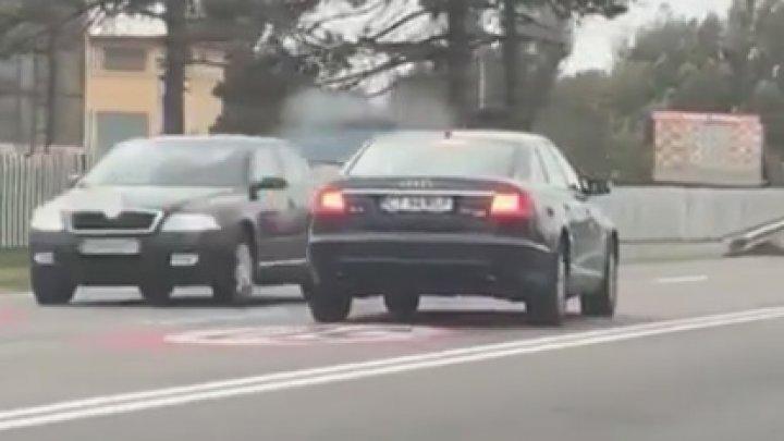 IMAGINI ȘOCANTE! Un șofer a condus beat și drogat pe contrasens (VIDEO)