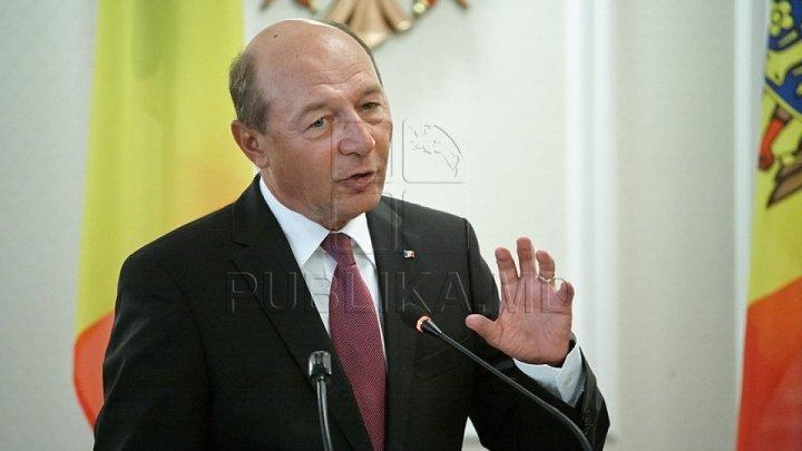 PSRM cere ca fostul președinte al României, Traian Băsescu să fie declarat persona non-grata în Republica Moldova