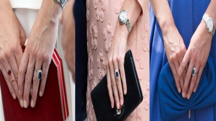 Culori de prinţesă. De ce Kate Middleton nu poartă niciodată unghii ROŞII