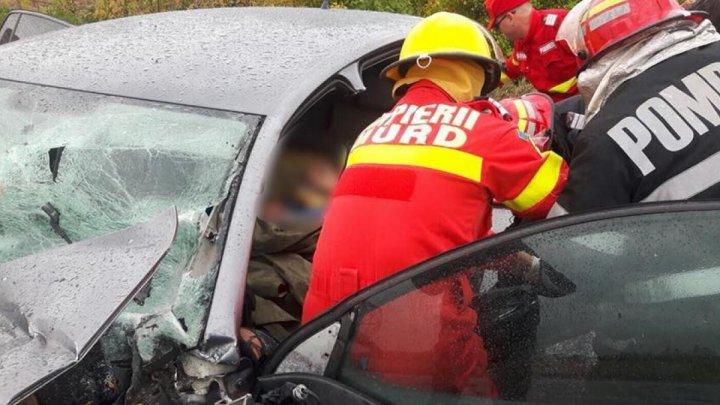 Accident GRAV în România. Un mort, 15 răniți și Plan Roşu de intervenţie (VIDEO)