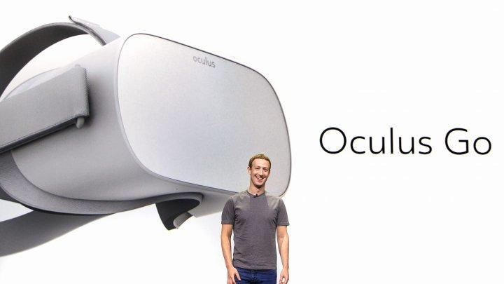Facebook lansată o noua cască virtuală fără fir. Oculus Go va avea un preț accesibil