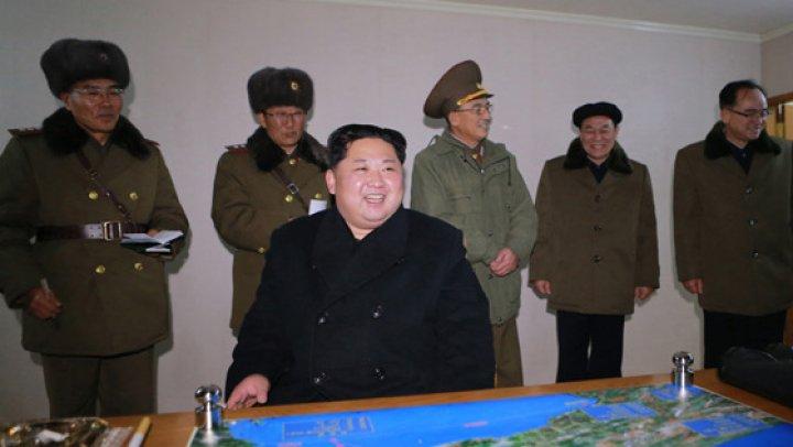 Phenianul a publicat imagini din timpul ultimului test balistic (GALERIE FOTO)