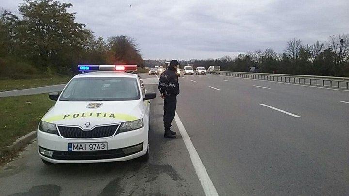 INP intensifică patrularea pe drumurile naționale din cauza precipitațiilor și ceții