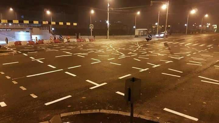 Cea mai ridicolă intersecție din România. Te-ai descurca pe strada asta (FOTO)