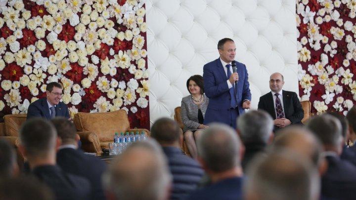 Președintele Parlamentului a prezentat oportunitățile de dezvoltare pentru mediul de afaceri