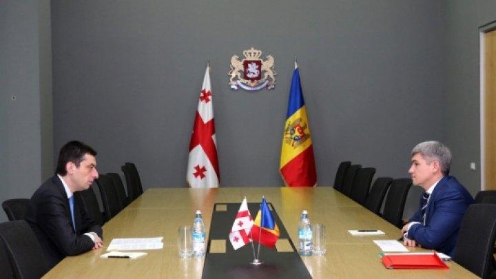 Întrevederea bilaterală a ministrului Alexandru Jizdan cu ministrul de Interne al Georgiei, Giorgi Gakharia