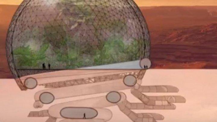 """Cum vor arăta primele """"case"""" de pe Marte. Pe ce bază vor funcţiona (VIDEO)"""