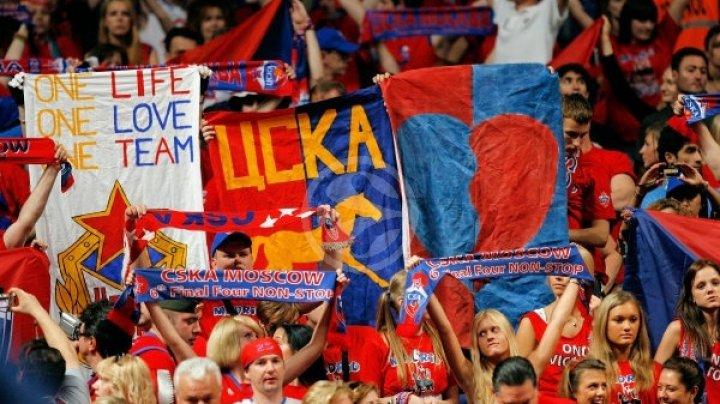 ŢSKA, victorie categorică! Formaţia rusă a surclasat Valencia cu scorul de 94-67