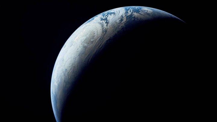 SURPRINZĂTOR: Cum arată Pământul văzut de la 10.000 de mile distanță.