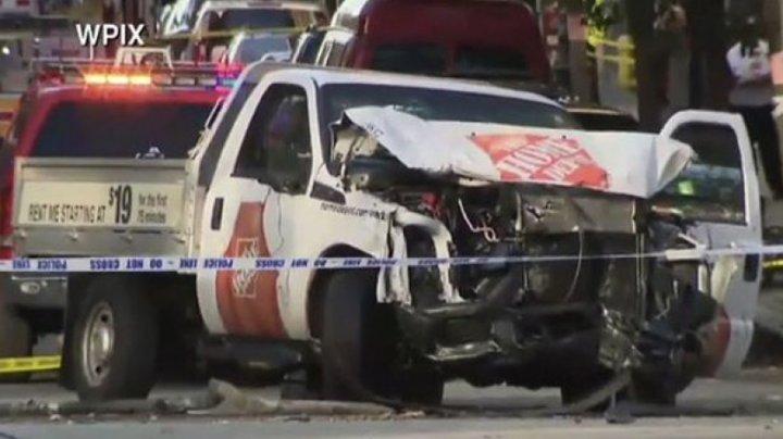 ATENTATUL TERORIST din New York. Atacatorul a acţionat în numele ISIS, iar dovada a fost găsită în mașina sa (VIDEO)